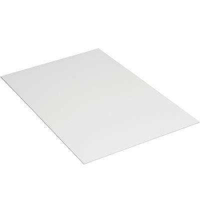 """24 x 18"""" White Plastic Corrugated Sheets"""