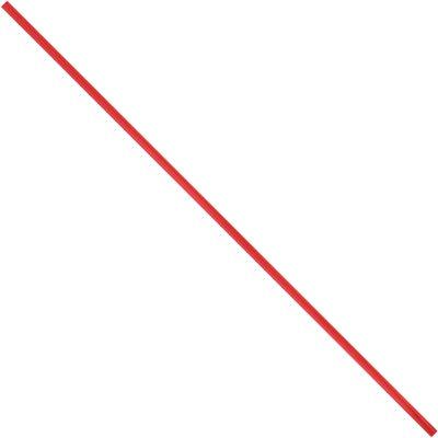 """8 x 5/32"""" Red Plastic Twist Ties"""