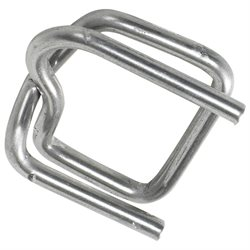 "1/2"" Heavy-Duty Wire Poly Strapping Buckles"