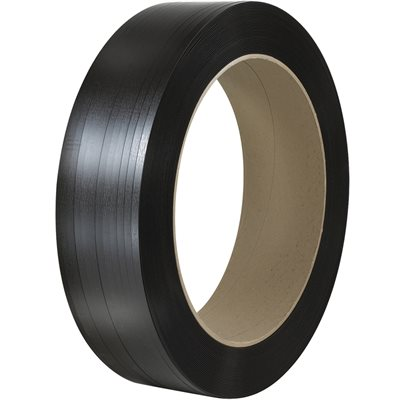 """1/2"""" x 4500' - 16 x 3"""" Core Polyester Strapping - Smooth"""