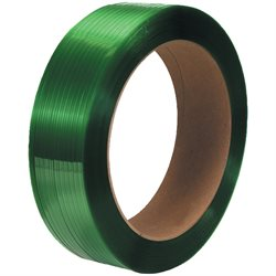 "5/8"" x 4200' - 16 x 6"" Core Polyester Strapping - Smooth"