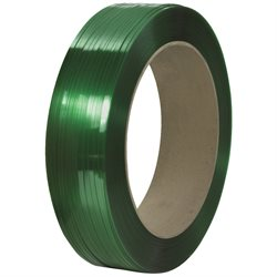 "7/16"" x 10500' - 16 x 6"" Core Signode® Comparable Polyester Strapping - Smooth"