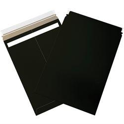 "13 x 18"" Black Self-Seal Flat Mailers"