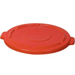 32 Gallon Brute® Container Flat Lid - Red
