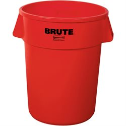 44 Gallon Brute® Container - Red