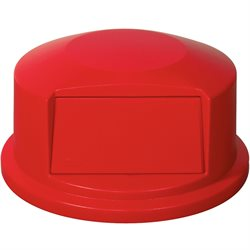 44 Gallon Brute® Container Domed Lid - Red