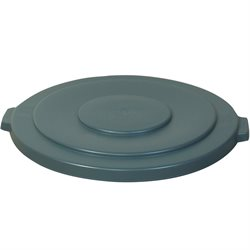 55 Gallon Brute® Container Flat Lid - Gray