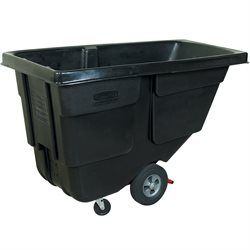 Rubbermaid® 1/2 Cubic Yard - Black Utility Grade Tilt Truck
