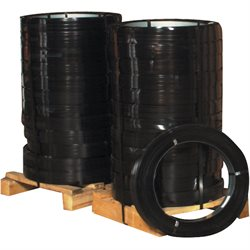 "1 1/4"" x .025 Gauge x 940' High Tensile Steel Strapping"