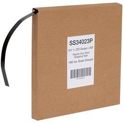 "3/4"" x .023 Gauge x 300' Regular Duty Steel Strapping"
