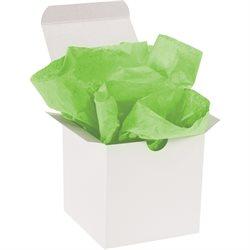 "15 x 20"" Citrus Green Gift Grade Tissue Paper"