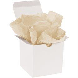 "20 x 30"" Tan Gift Grade Tissue Paper"