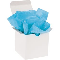 """20 x 30"""" Turquoise Gift Grade Tissue Paper"""