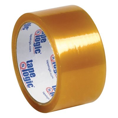 """2"""" x 55 yds. Clear Tape Logic® #53 PVC Natural Rubber Tape"""