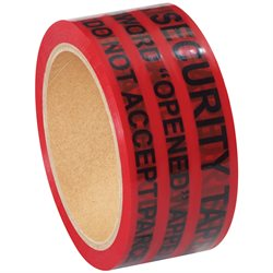 "2"" x 9"" Red Tape Logic® Secure Tape Strips"
