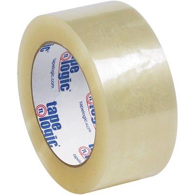 "2"" x 110 yds. Clear (6 Pack) Tape Logic® #122 Quiet Carton Sealing Tape"