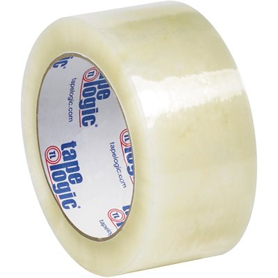 """2"""" x 110 yds. Clear Tape Logic® #7651 Cold Temperature Tape"""