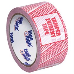 "2"" x 110 yds. ""Tamper Evident"" Print (6 Pack) Tape Logic® Security Tape"