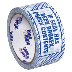 "2"" x 110 yds. ""If Seal Has Been..."" Print (6 Pack) Tape Logic® Security Tape"