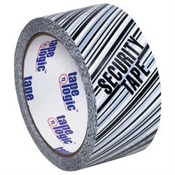 "2"" x 110 yds. ""Security Tape"" Print (6 Pack) Tape Logic® Security Tape"