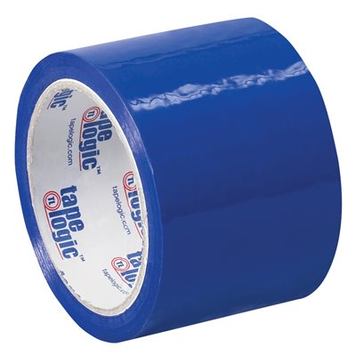 """3"""" x 55 yds. Blue Tape Logic® Carton Sealing Tape"""