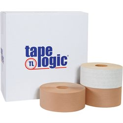 "3"" x 450' Kraft Tape Logic® #7700 Reinforced Water Activated Tape"