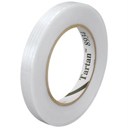 "3/8"" x 60 yds. 3M 8934 Strapping Tape"