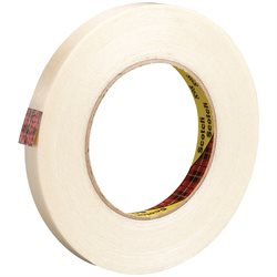 "3/8"" x 60 yds. (12 Pack) 3M 898 Strapping Tape"