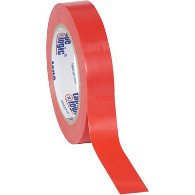 """1"""" x 36 yds. Red (3 Pack) Tape Logic® Solid Vinyl Safety Tape"""