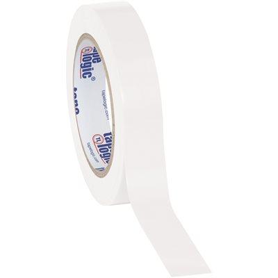 "1"" x 36 yds. White Tape Logic® Solid Vinyl Safety Tape"