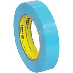 "1"" x 60 yds. (12 Pack) 3M 8898 Poly Strapping Tape"