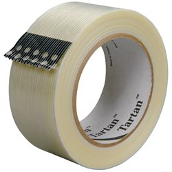 """1"""" x 60 yds. (12 Pack) 3M 8932 Strapping Tape"""