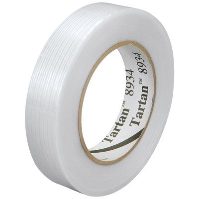 """1"""" x 60 yds. 3M 8934 Strapping Tape"""