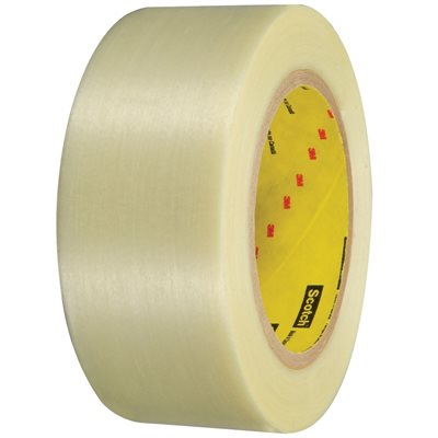 """2"""" x 60 yds. (3 Pack) 3M 898 Strapping Tape"""