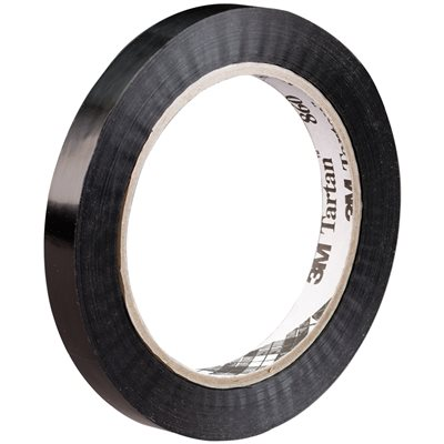 """1/2"""" x 120 yds. (12 Pack) 3M 860 Poly Strapping Tape"""