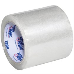 "4"" x 72 yds. Clear (6 Pack) Tape Logic® 1.8 Mil Acrylic Tape"