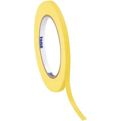 """1/4"""" x 60 yds. Yellow (12 Pack) Tape Logic® Masking Tape"""