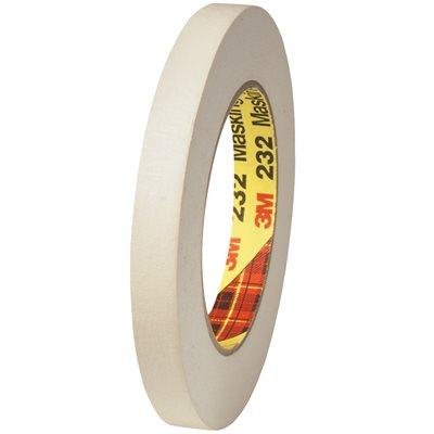 """1/4"""" x 60 yds. 3M 232 Masking Tape"""