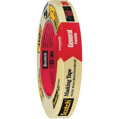 "3/4"" x 60 yds. (12 Pack) 3M 2050 Masking Tape"