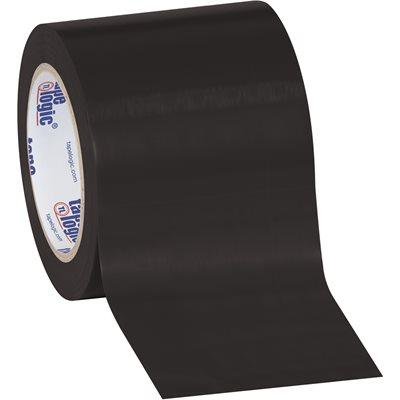 """4"""" x 36 yds. Black Tape Logic® Solid Vinyl Safety Tape"""