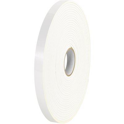 "1"" x 72 yds. (1/32"" White) (2 Pack) Tape Logic® Double Sided Foam Tape"