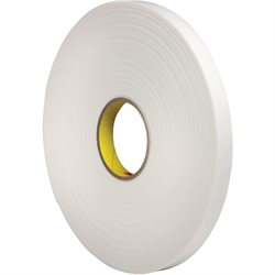 "1/2"" x 36 yds. (1 Pack) 3M 4466 Double Sided Foam Tape"
