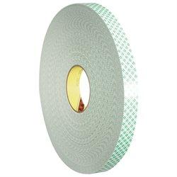 """1"""" x 72 yds. 3M 4032 Double Sided Foam Tape"""