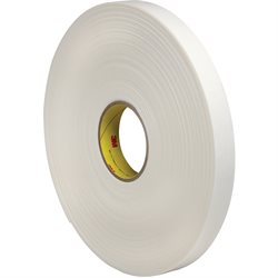 "1"" x 36 yds. (1 Pack) 3M 4466 Double Sided Foam Tape"