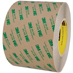 "6"" x 60 yds. 3M 468MP Adhesive Transfer Tape Hand Rolls"
