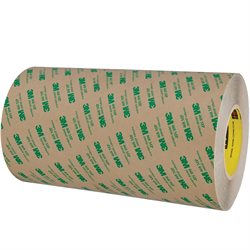 "12"" x 60 yds. (1 Pack) 3M 468MP Adhesive Transfer Tape Hand Rolls"