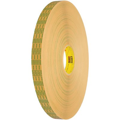 """1/2"""" x 60 yds. (6 Pack) 3M 465XL Adhesive Transfer Tape Hand Rolls"""