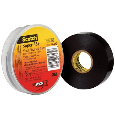 """3/4"""" x 66' 3M 33+ Electrical Tape"""