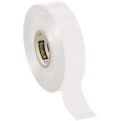 """3/4"""" x 66' White (10 Pack) 3M 35 Electrical Tape"""