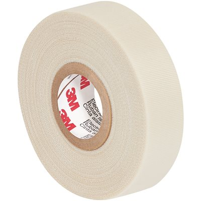 """1"""" x 108' White (1 Pack) 3M 69 Electrical Tape"""
